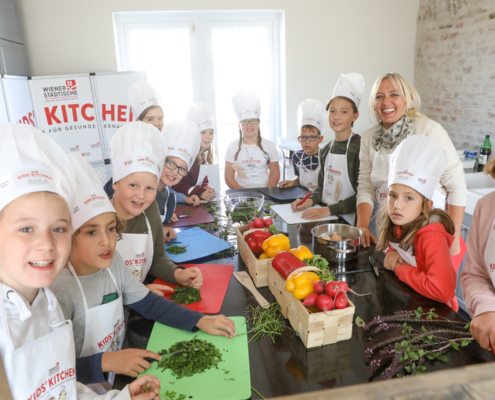 Kid's Kitchen Event © Katharina Schiffl